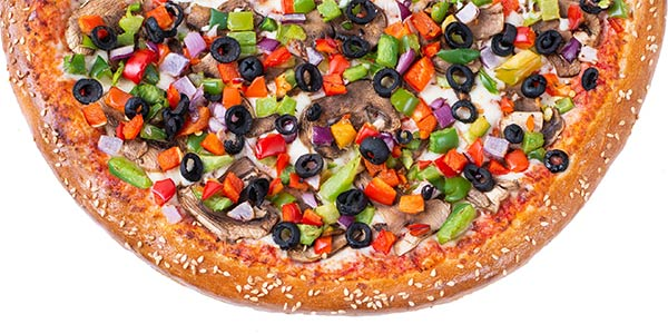 Mixed Veggie Pizza